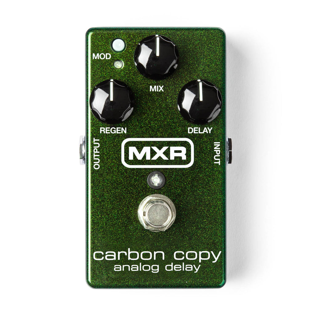 MXR - Carbon Copy M-169 Analog Delay, Little Green Giant!