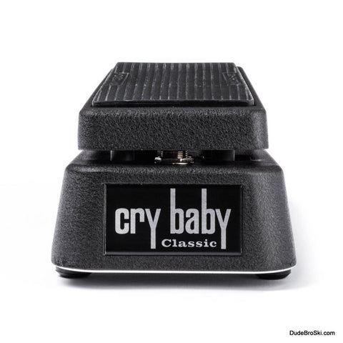 Dunlop Cry Baby Classic Wah GCB95F - Fasel Inductor Wah w/vintage voice, bypass switching - Dudebroski Guitars