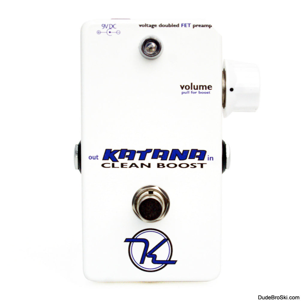 Keeley Katana Clean Boost, Redesigned and Making Perfection Sound Just a Bit Better!