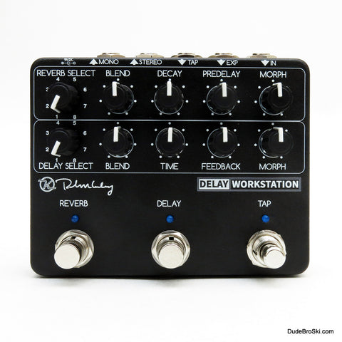 Keeley Delay Workstation Powerful, Dual DSP Processor Delay and Reverb Machine! - Dudebroski Guitars