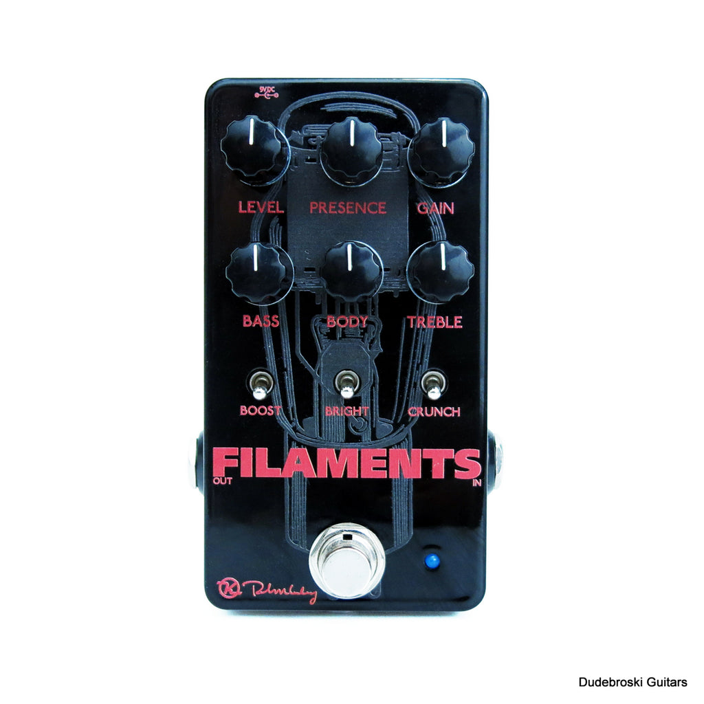 Keeley Filaments High Gain Distortion, the Most Potent and Aggressive Metal Stompbox