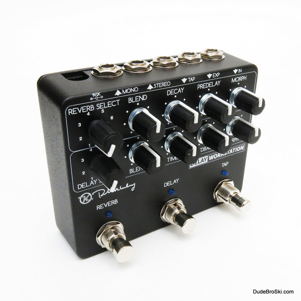 Keeley Delay Workstation - Powerful, Dual DSP Processor Delay and Reverb Machine!