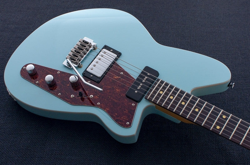 Reverend - Double Agent w/Wilkinson Trem in Chronic Blue, Balls Meets Twang Tone!