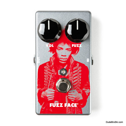 Dunlop JHM5 - Jimi Hendrix Limited Edition Fuzz Face Distortion Pedal, Only 1000 Available Worldwide! - Dudebroski Guitars