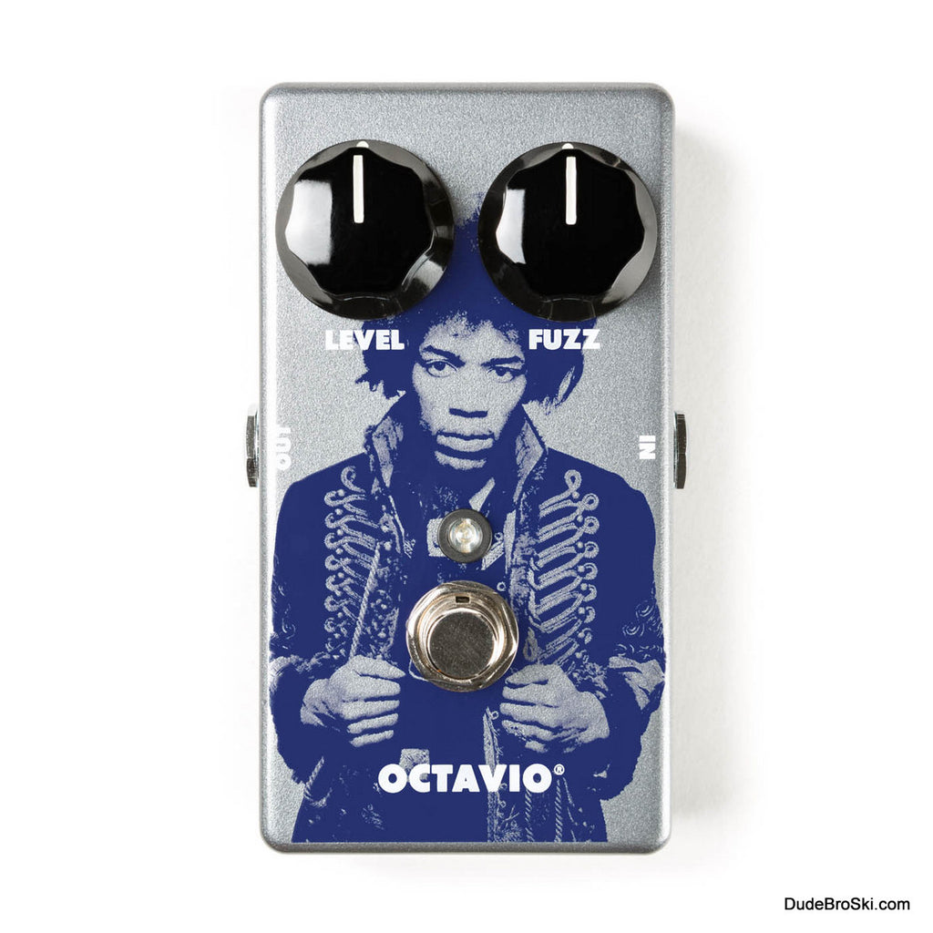 Dunlop JHM6 - Jimi Hendrix Limited Edition Octavio Fuzz Pedal, Only 1500 Available Worldwide!
