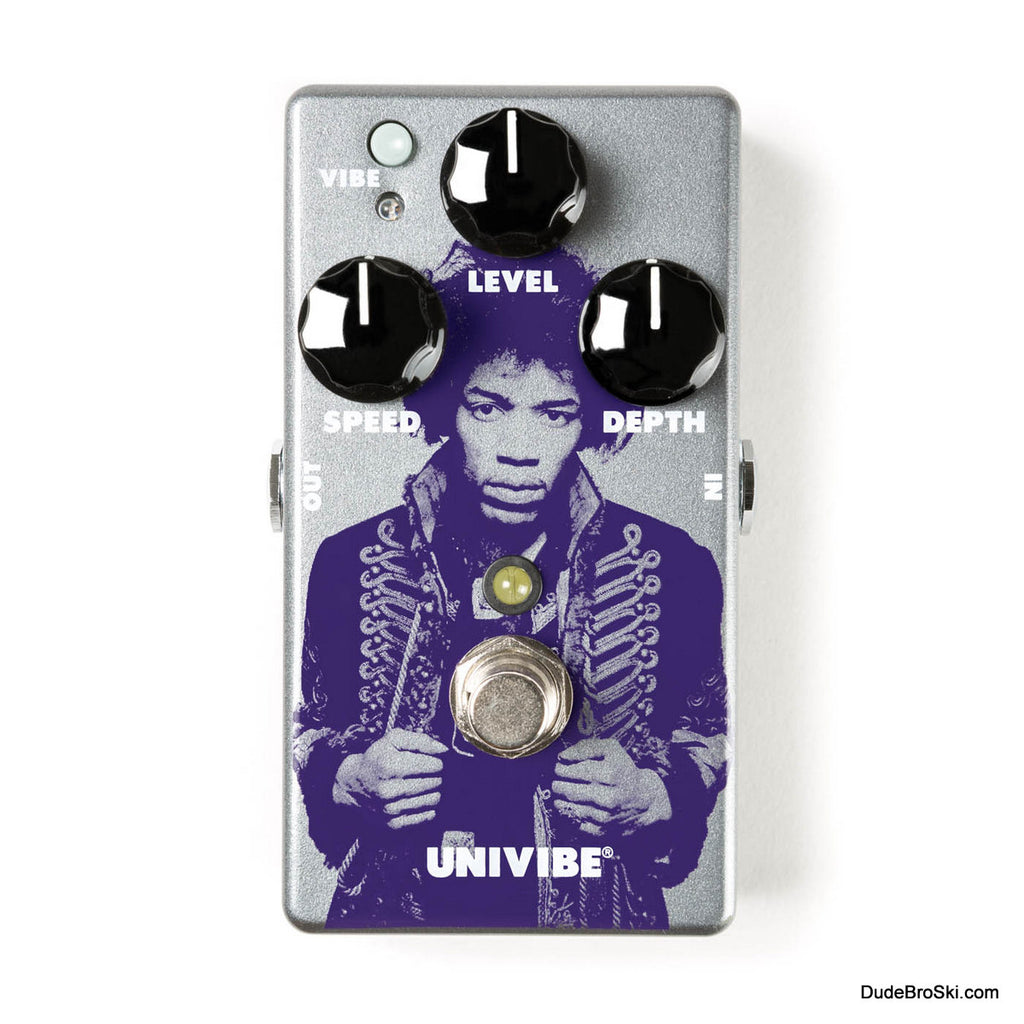 Dunlop JHM7 - Jimi Hendrix Limited Edition Univibe Chorus/Vibrato Pedal, Only 2000 Available Worldwide!