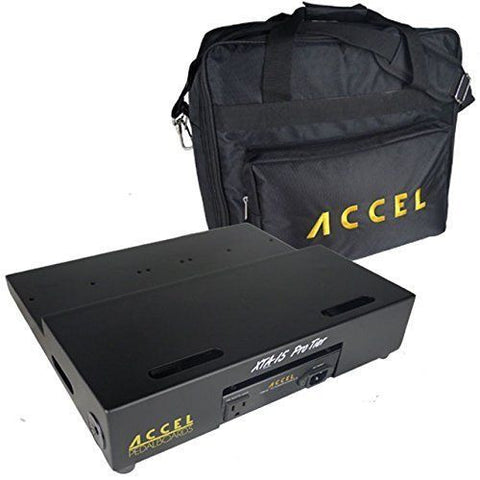 "Accel - XTA15 (15"" x 13"") Tiered Pedalboard, Power Supply & Gig Bag Combo, SAVE! - Dudebroski Guitars"