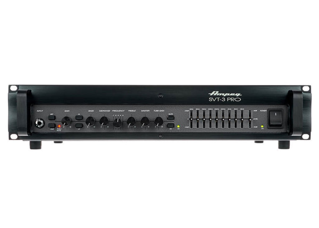 Ampeg Svt-3 Pro, 450w Bass Head with Tube Preamp, Solid State Amp
