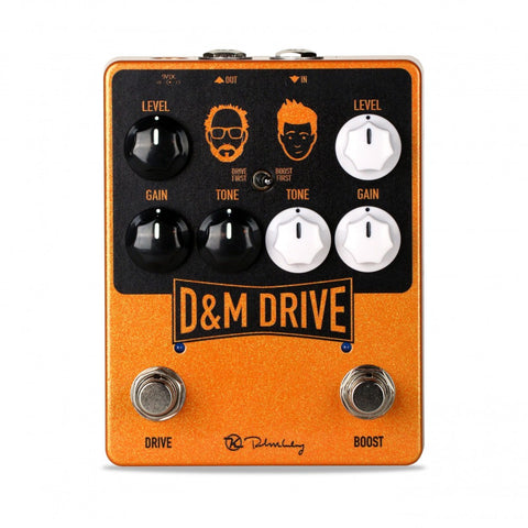 Keeley D&M Drive Dual Drive Boost Pedal for That Pedal Show - Dudebroski Guitars