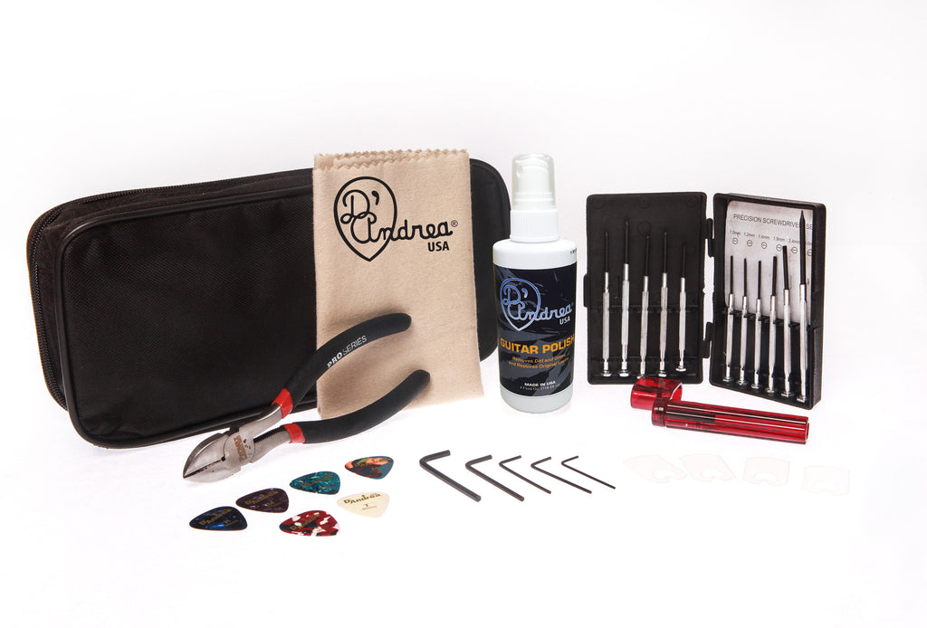 D'Andrea Guitar Cleaner & Maintenance Kit