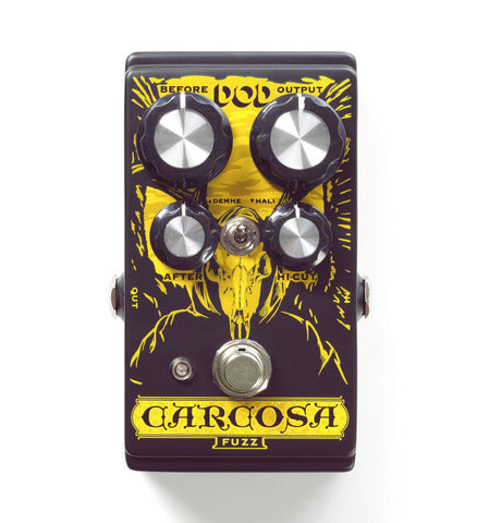 DOD Carcosa Analog Fuzz, Heavy Dudy Fuzz-a-Luscious Stoner Doom Rock Sludge, Killer! - Dudebroski Guitars