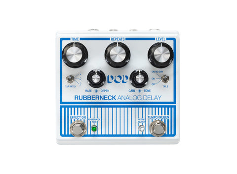 DOD Rubberneck Analog Delay, Tap Tempo, Subdivisions & Trails, Good Times! - Dudebroski Guitars
