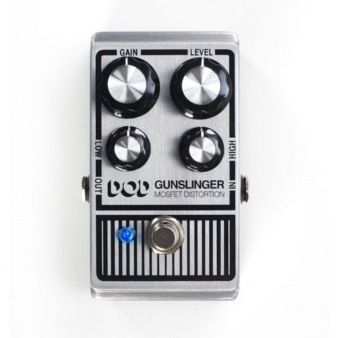 DOD Gunslinger Mosfet Distortion, Do All Your Dirty Work - Dudebroski Guitars