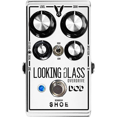 DOD Looking Glass, Class-A FET Transparent Overdrive to Rounch