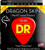 DR Dragon Skin, 2 Sets of Electric Guitar Strings, Clear Coated Nickel Plated Strings - Dudebroski Guitars