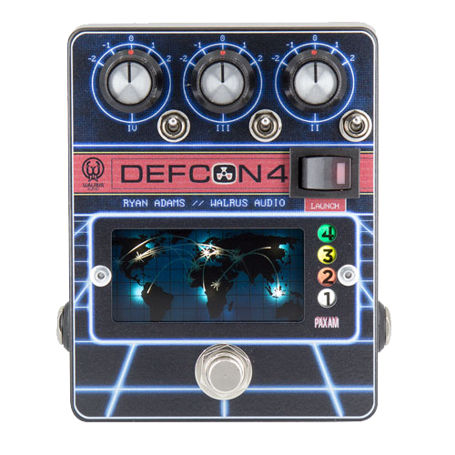 Walrus Audio Defcon 4 Preamp, EQ, Boost Pedal, Four Distinct Stages of Tone Control