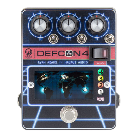 Walrus Audio Defcon 4 Preamp, EQ, Boost Pedal, Four Distinct Stages of Tone Control - Dudebroski Guitars