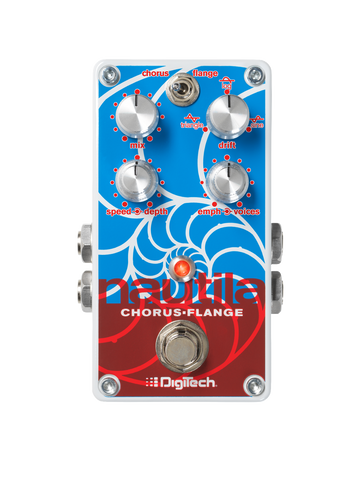 Digitech Nautila - Multi-Voice Chorus/Flanger, Rich Sonic Swirls to Creamy Rhythmic Waves - Dudebroski Guitars