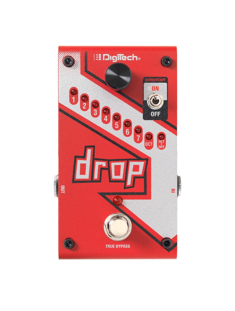 DigiTech Drop - Polyphonic Drop Tune, Pitch Shifting Pedal