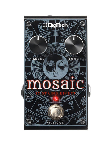DigiTech Mosaic - Polyphonic 12-String Effect Pedal! - Dudebroski Guitars