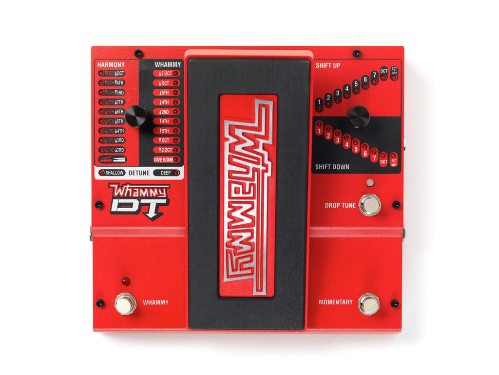 DigiTech Whammy DT, Classic Pitch Shifting w/Drop & Raised Tuning