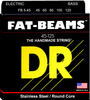 DR Fat Beam - Stainless Steel Bass Strings wound on Round Cores - Dudebroski Guitars