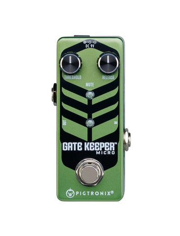 Pigtronix Gatekeeper Micro, Lightning Fast, Studio Quality Noise Gate Pedal
