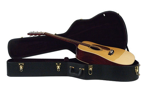 Guardian Acoustic Guitar Hard-shell Case, Dreadnought Size - Dudebroski Guitars