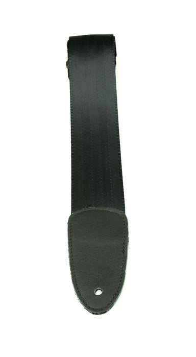 "Henry Heller 2"" Seat Belt Nylon Webbed Guitar Strap w/Deluxe Sewn Leather Ends"