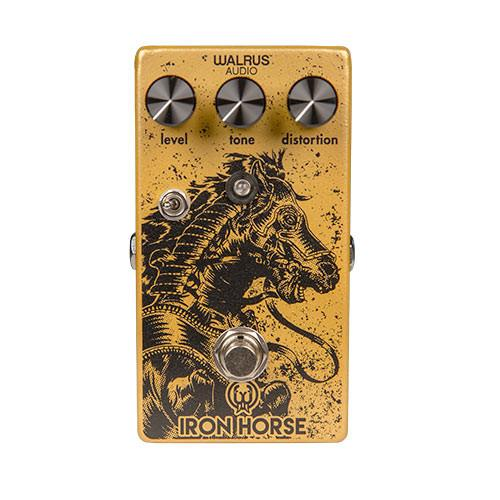 Walrus Audio Iron Horse LM308 Distortion V2 - Thick, Punchy, Riffy and Rowdy