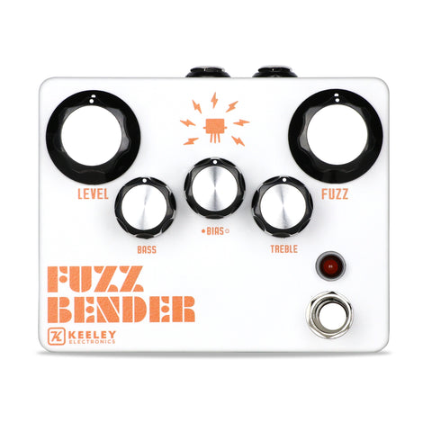 Keeley Fuzz Bender, High-Gain Silicon and Smooth-Toned Germanium - Dudebroski Guitars