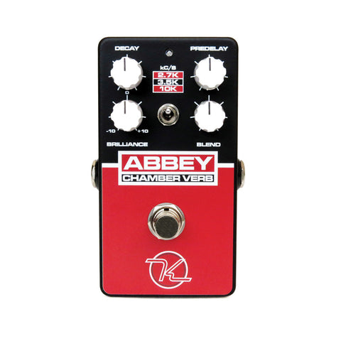 Keeley Abbey Chamber Reverb - British Echo Chamber Tones - Dudebroski Guitars