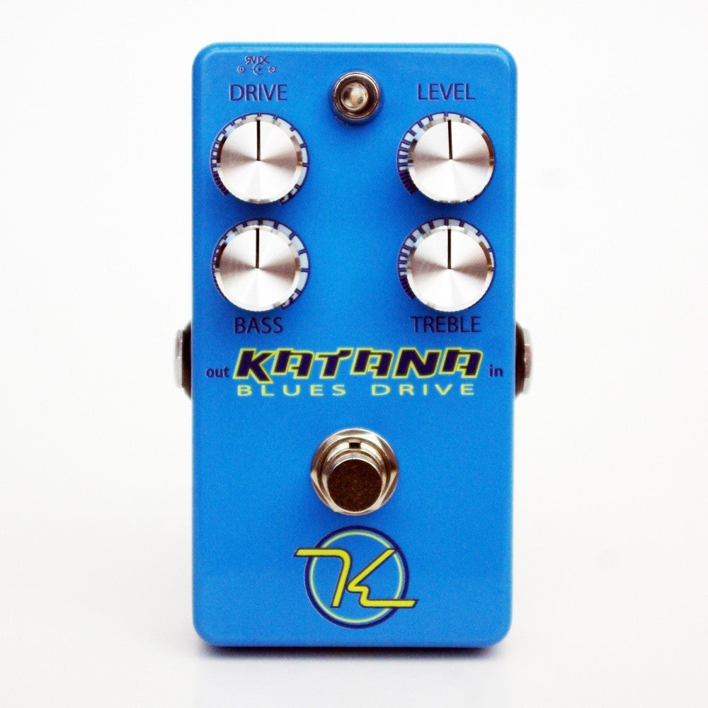 Keeley Katana Blues Drive, Huge Tone for Discriminating Players