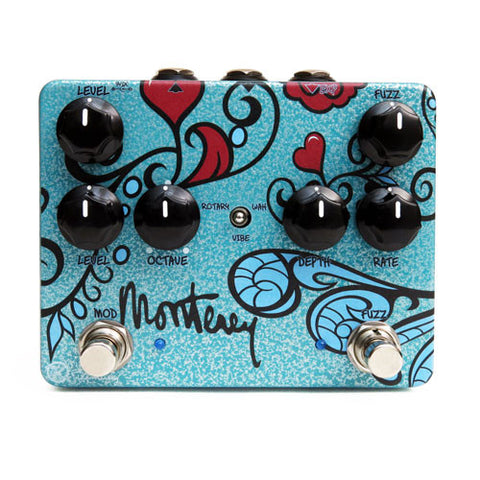 Keeley Monterey Rotary Fuzz Vibe, The Axis For A Bold New Tone - Dudebroski Guitars