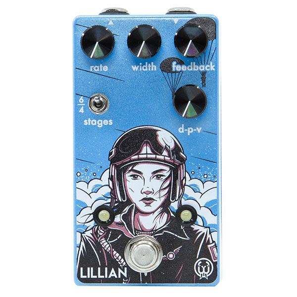Walrus Audio Lillian Multi-Stage Analog Phaser, All Sorts of Phase/Vibrato Combinations