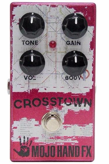 Mojo Hand FX Crosstown - Experience the Ultimate Germanium/Silicon Hybrid Fuzz Face