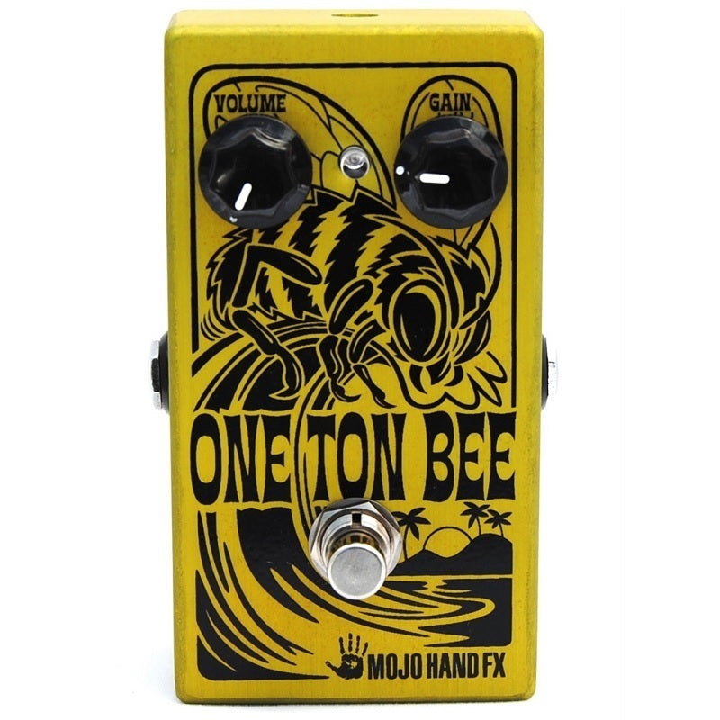 Mojo Hand FX One Ton Bee - Gnarly, Nasty Fuzz of Yore, Bringing Vintage Screaming Fuzz Into the Now