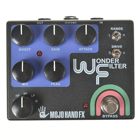 Mojo Hand FX Wonder Filter - Classic Inspired, Fully Analog Envelope Filter - Dudebroski Guitars