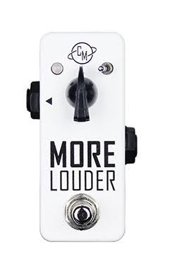 Cusack More Louder Boost, Small Pedal, Big Sound with 25db of Clean Boost