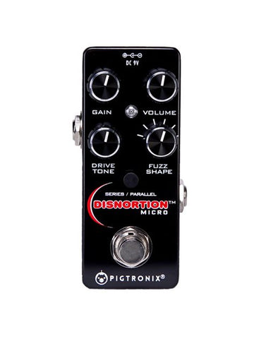Pigtronix Disnortion Micro, Packs all the Sonic Glory and 18V Headroom of the Original - Dudebroski Guitars