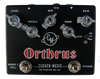 Cusack Orthrus Distortion Pedal, A Snarling Beast with Boost Footswitch - Dudebroski Guitars