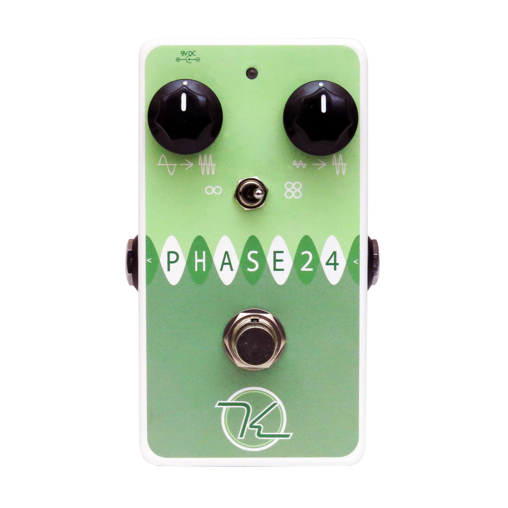 Keeley Phase 24, High Fidelity Phaser with a Classic Lush Tone