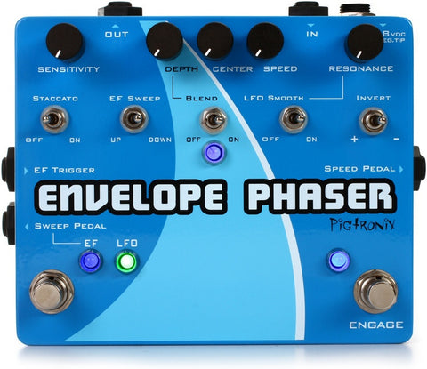 Pigtronix Envelope Phaser, Pour on the Special Sauce & Make it Funky! - Dudebroski Guitars