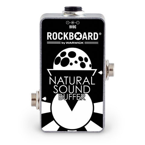 RockBoard Natural Sound Buffer, Op-Amp Based Signal Buffer - Dudebroski Guitars