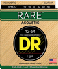 DR Rare Phosphor Bronze Acoustic Guitar Strings, Light 12-54 - Dudebroski Guitars