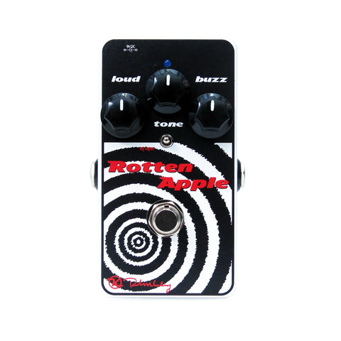 Keeley Rotten Apple, Op-amp Fuzz Pedal with 3-way Tone Toggle - Dudebroski Guitars