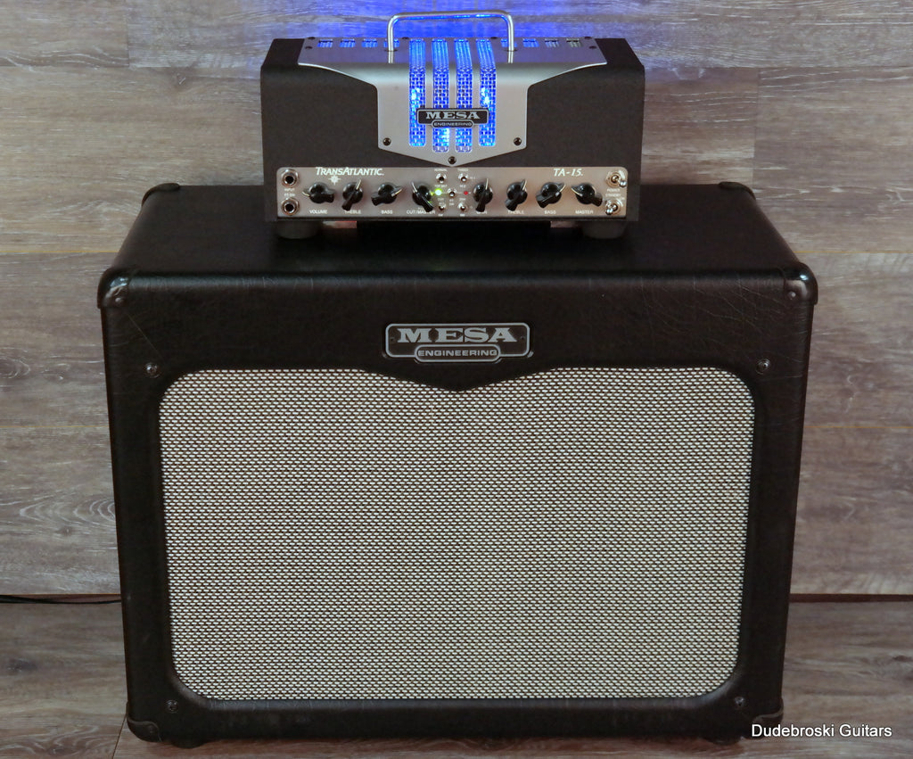 Mesa Boogie Trans-Atlantic 15 Head and matching 112 Cabinet