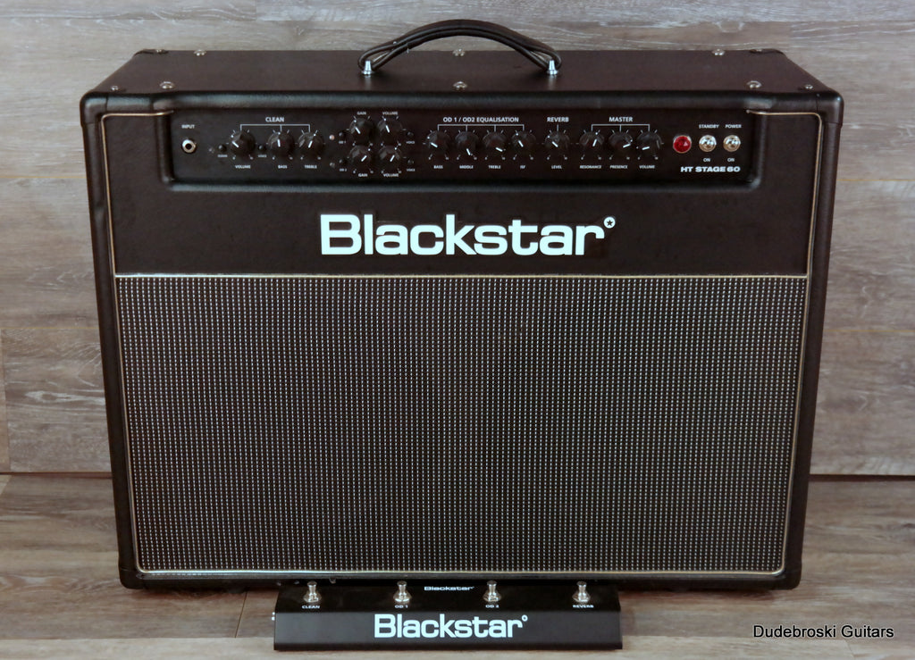 Blackstar HT Stage 60, Three Channel, 60 Watt, 2x12 Tube Combo Amp
