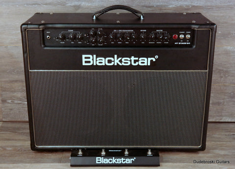 Blackstar HT Stage 60, Three Channel, 60 Watt, 2x12 Tube Combo Amp - Dudebroski Guitars