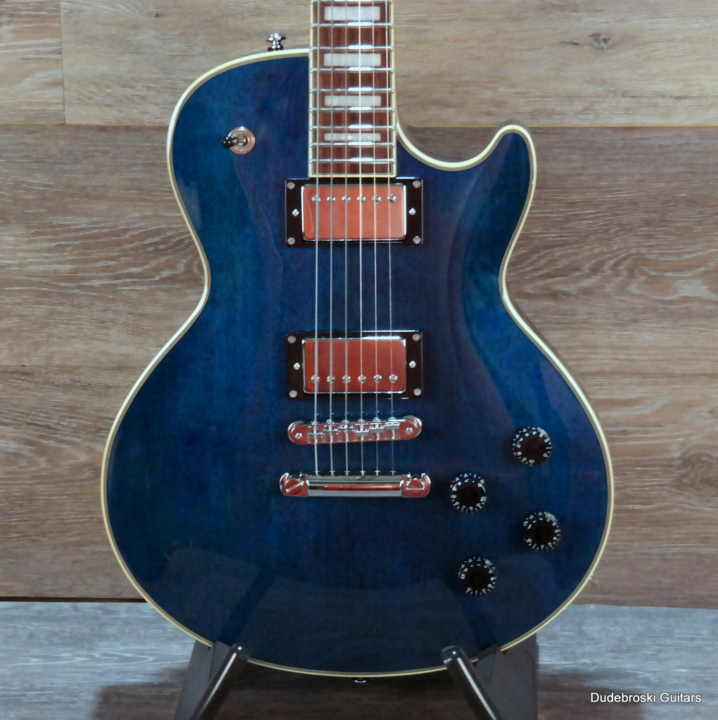 1. D'Angelico Premier SD Electric Solidbody Guitar with Gig Bag